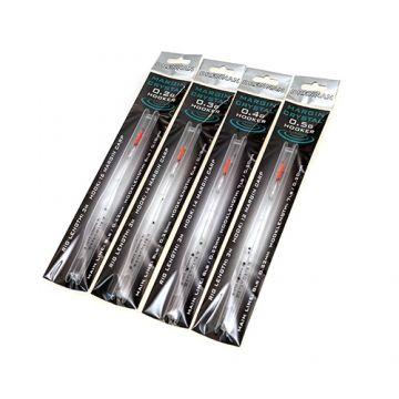 Drennan Margin Crystal Hooker Rig clear kant & klare vislijn 0.50g 0.22-0.18mm H12
