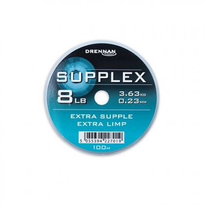 Drennan Supplex clear visdraad 0.23mm 100m 8lb