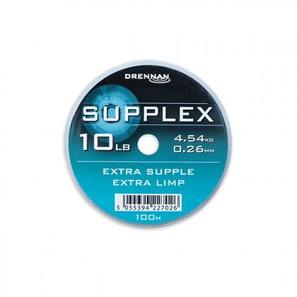 Drennan Supplex clear visdraad 0.26mm 100m 10lb