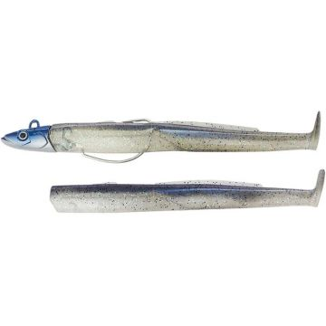 Fiiish Black Eel 110 Combo Shore electric blue shad zeebaars N°2 8g