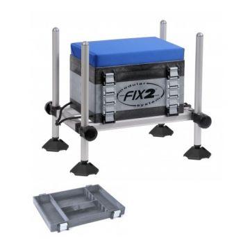Fix2 FCS5-26 zwart - grijs - blauw witvis visbak