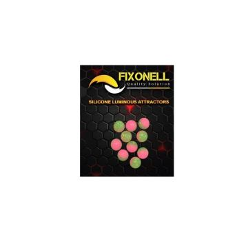 Fixonell Attractors Ball groen - roze parel 8mm