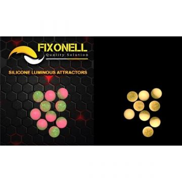 Fixonell Attractors Ball GROEN - ROZE parel