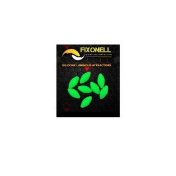 Fixonell Attractors Oval groen parel 15mm