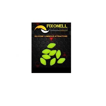 Fixonell Attractors Oval geel parel 15mm