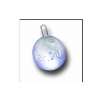 Fonderiaroma Sfera 13 zilver zeevis vislood 125g