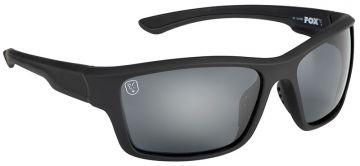 Fox Avius Wraps Matt Black Frame Grey Lens zwart viszonnenbril