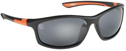 Fox Black & Orange Frame Grey Lens zwart - oranje viszonnenbril