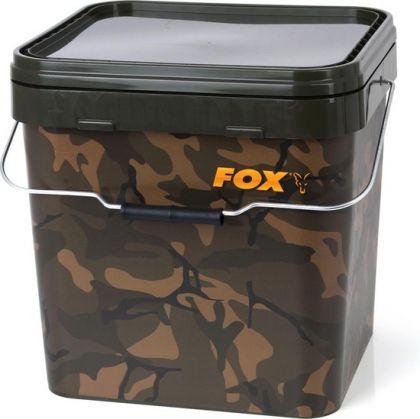 Fox Camo Square Buckets camo visemmer 17l