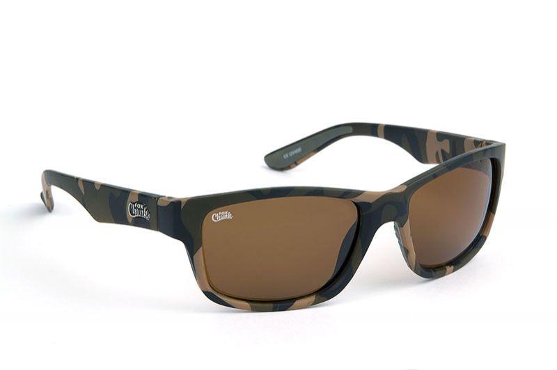 Fox Chunk Sunglasses Camo Frame Brown Lens camo - bruin viszonnenbril