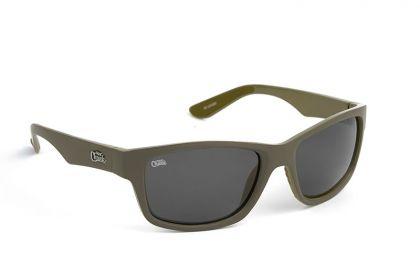Fox Chunk Sunglasses Khaki Frame Grey Lens khaki - grey viszonnenbril