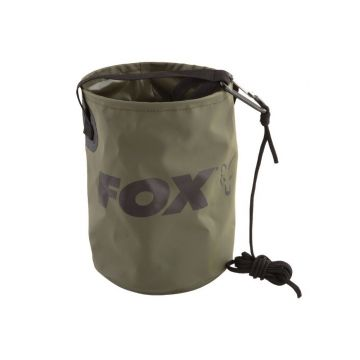 Fox Collapsible Water Bucket groen karper karpertas
