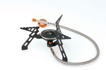 Fox Cookware Compact 3000 Stove zwart - grijs - oranje
