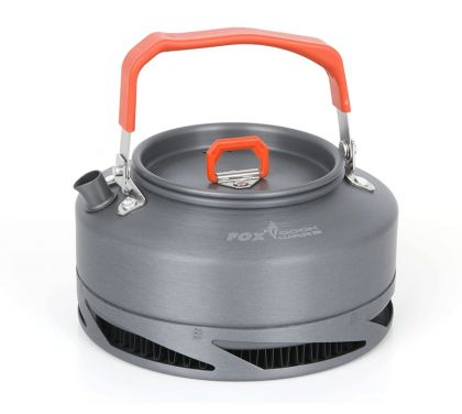Fox Cookware Heat Transfer Kettle gris - orange  0.9l