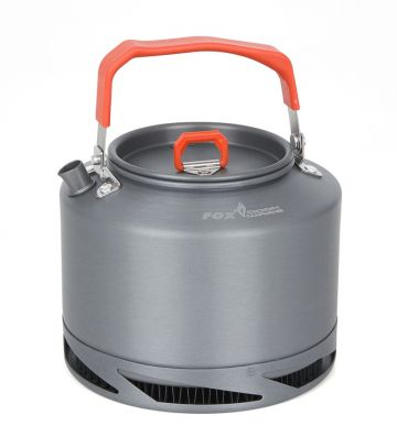 Fox Cookware Heat Transfer Kettle gris - orange  1.5l
