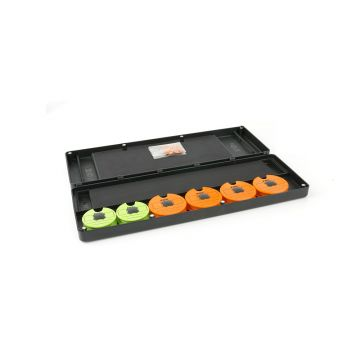 Fox Disc & Rig Box System groen karper visdoos Large