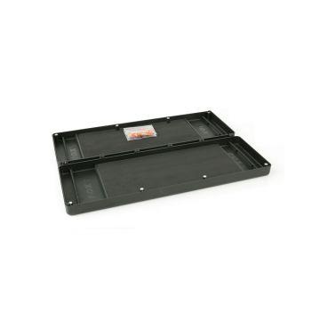 Fox Double Rig Box System groen karper visdoos Large