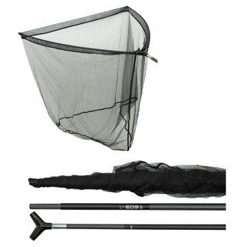 Fox EOS Compact Landing Net groen - zwart karper visschepnet 42 Inch