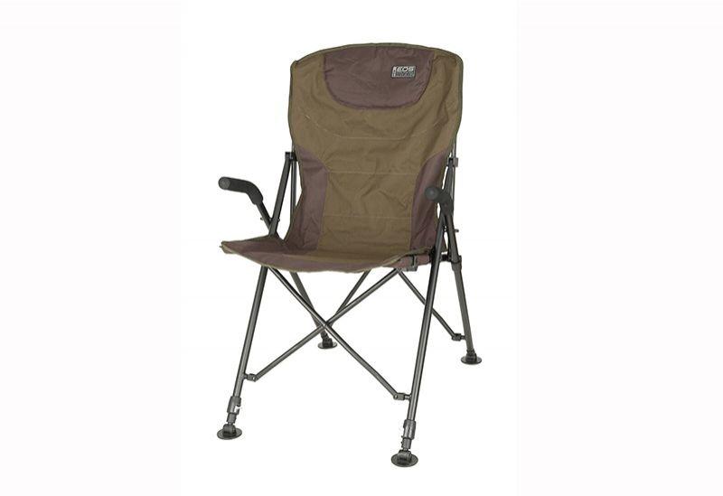 Fox Eos Folding Chair zwart - groen visstoel karperstoel