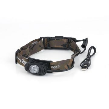 Fox Halo AL350C Headtorch zwart - camo lamp