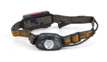 Fox Halo MS250 Headtorch zwart - bruin lamp