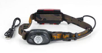 Fox Halo MS300C Headtorch zwart - camo lamp