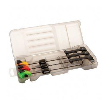 Fox MK3 Swinger Set 3-Rod rood - groen - geel karper viswaker