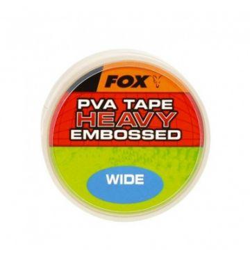 Fox PVA Tape Heavy Embossed clear karper pva-systeem 10mm 20m