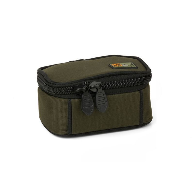 Fox R-Series Accessory Bag zwart - groen karper karpertas Small