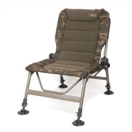 Fox R1 Camo Chair camo visstoel karperstoel