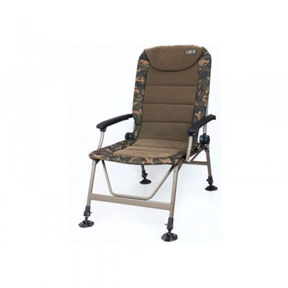 Fox R3 Camo Chair camo visstoel karperstoel