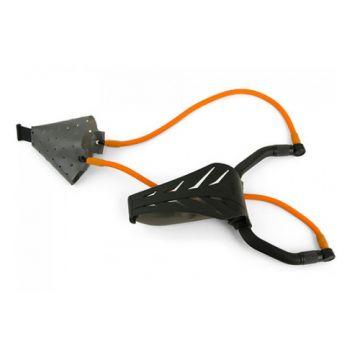 Fox Range Master Powerguard Multi Pouch zwart - oranje karper viskatapult