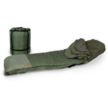Fox Ventec Evo Lite Sleeping Bag groen slaapzak visbed