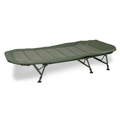 Fox Warrior II 6 Legged Bedchair groen visbed