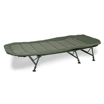 Fox Warrior II 6 Legged Bedchair groen visbed X-large