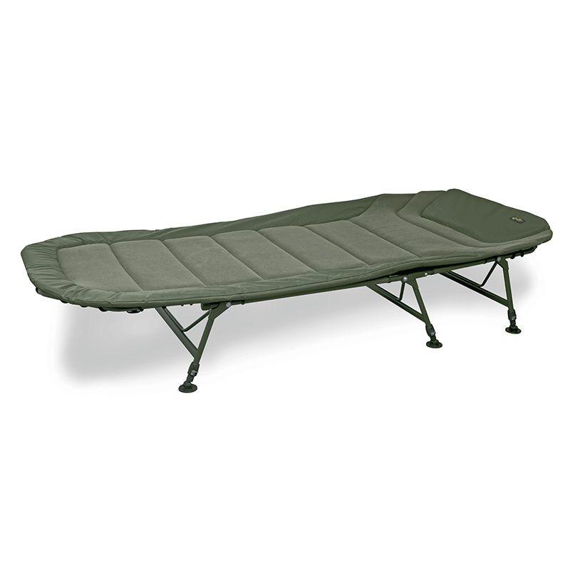 Fox Warrior II 6 Legged Bedchair groen visbed X-large