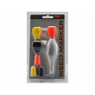 Fox Weed Marker geel - rood - zwart karper marker & spod