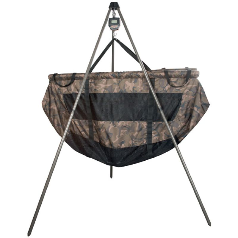 Fox Weighing Tripod zwart - bruin visweegschaal