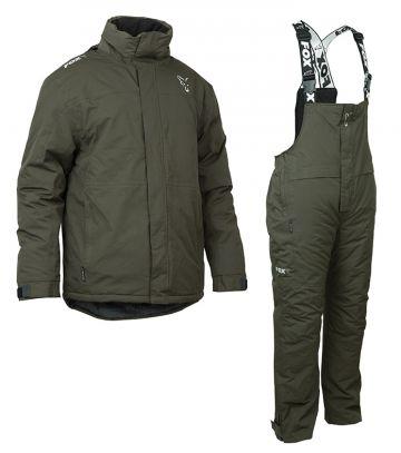 Fox Winter Suit groen - grijs warmtepak Small