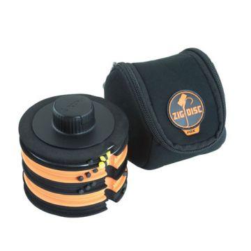 Fox Zig Disc Storage System zwart - oranje karper visdoos