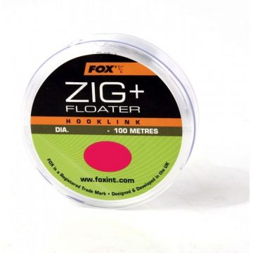 Fox Zig + Floater Line clear karper oppervlakte visserij 0.234mm 100m