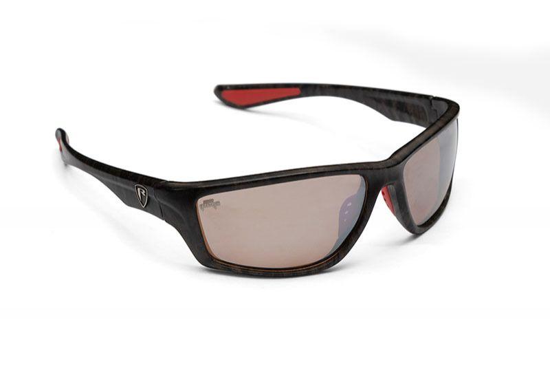 Foxrage Camo Frame Brown Lens Mirror grijs - bruin viszonnenbril