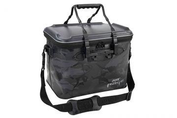 Foxrage Camo Welded Bag zwart - grijs - wit roofvis roofvistas Large