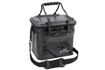Foxrage Camo Welded Bag zwart - grijs - wit roofvis roofvistas Medium