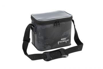 Foxrage Camo Welded Bag zwart - grijs - wit roofvis roofvistas Small