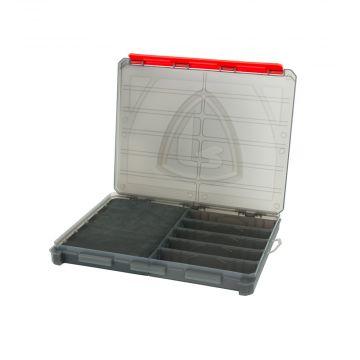 Foxrage Compact Storage Box GRIJS - ROOD roofvis visdoos Large