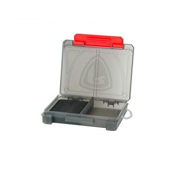 Foxrage Compact Storage Box GRIJS - ROOD roofvis visdoos Small