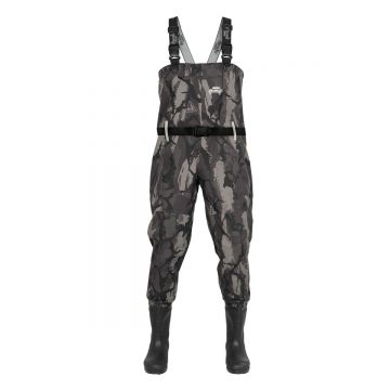 Foxrage Lightweight Breathable Chest Waders camo - zilver waadpak M45