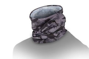 Foxrage Lightweight Camo Snood zwart - grijs sjaal