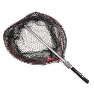 Foxrage Speedflow II Net zwart - grijs - rood roofvis visschepnet X-large